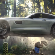 2015 Mercedes AMG GT Superbowl Werbung