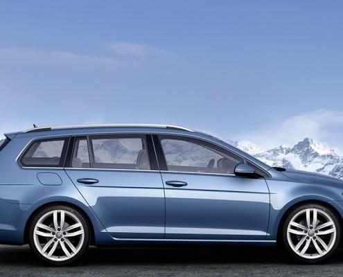 Der neue Volkswagen Golf Variant