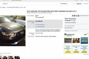 Beckham Audi RS6 ebay