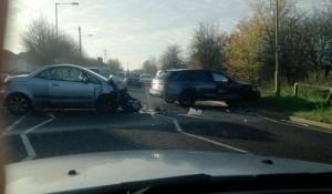 Beckham Audi Unfall