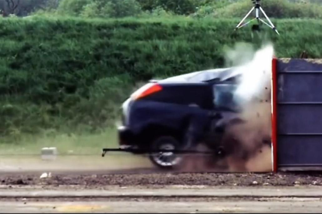 Crashtest 190 km/h
