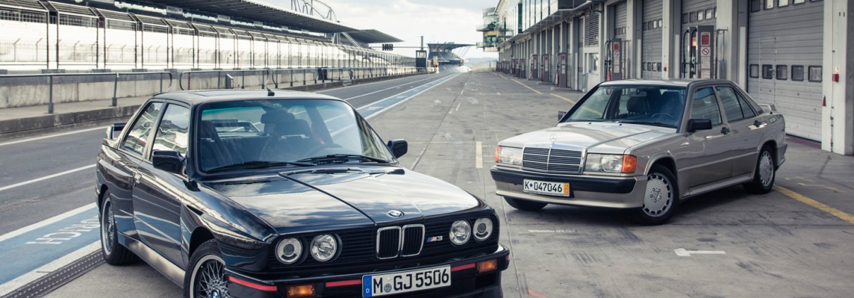 Mercedes-Benz 190E 2.3-16 BMW M3
