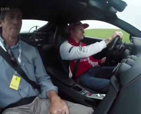 Kimi Räikkönen Taxifahrt