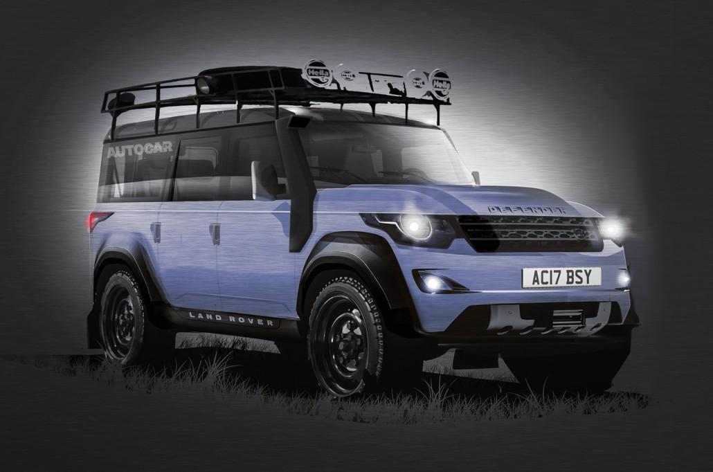 Land Rover New >> Nicht viel - das weiß man vom Land Rover Defender neu
