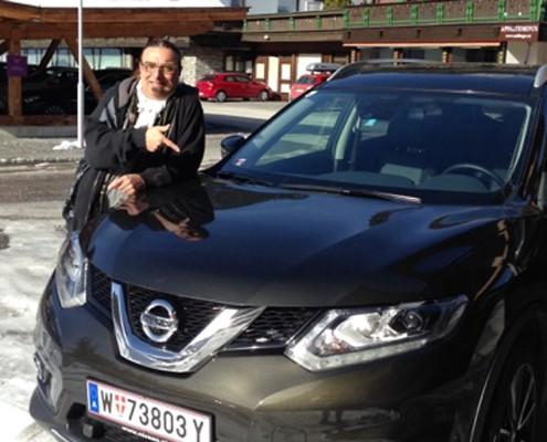 Rudi Dolezal Nissan X-Trail