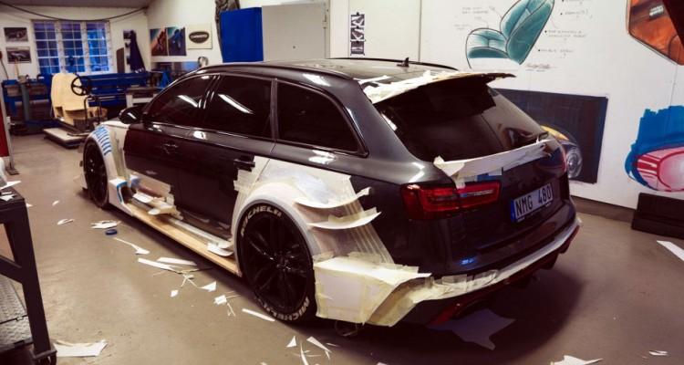Audi Rs6 Im Dtm Look 1000 Ps F 252 R Die Familie