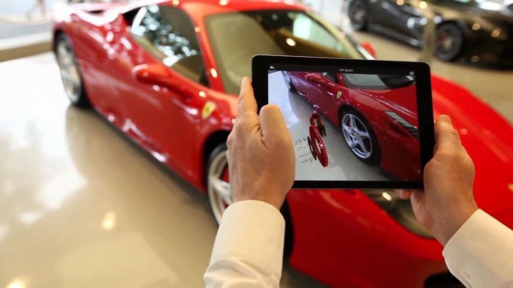 Ferrari App Augmented Reality