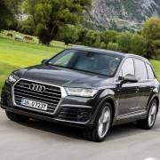 Audi Q7 2015 Front