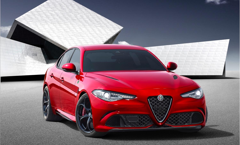 Alfa Romeo Giulia wurde gesichtet
