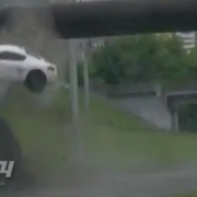 Porsche Cayman Crash Russland