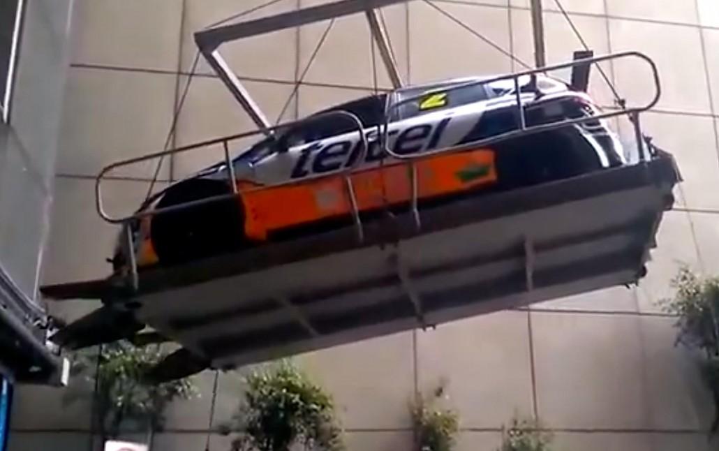 Seat Supercopa crash