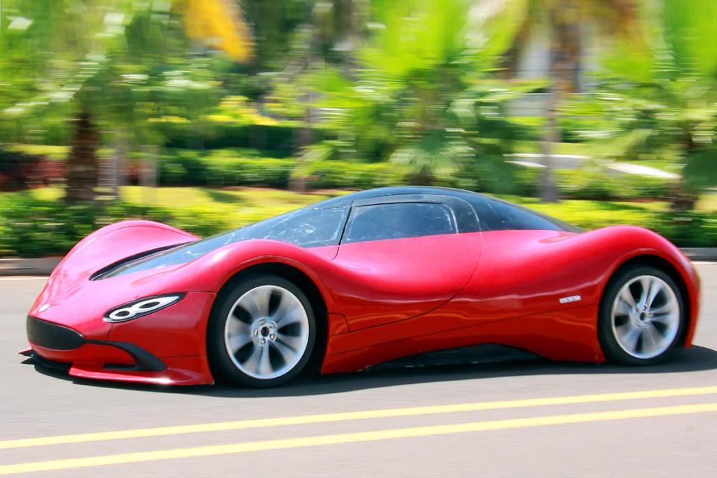 Elektrosportwagen aus China