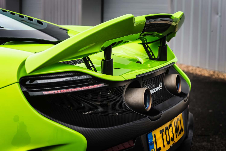 McLaren_675_LT_Auspuff_Heckspoiler