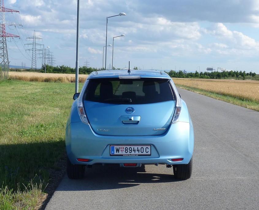 Nissan Leaf Heck