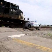 Stretch Limo Zug Crash Chrysler 300