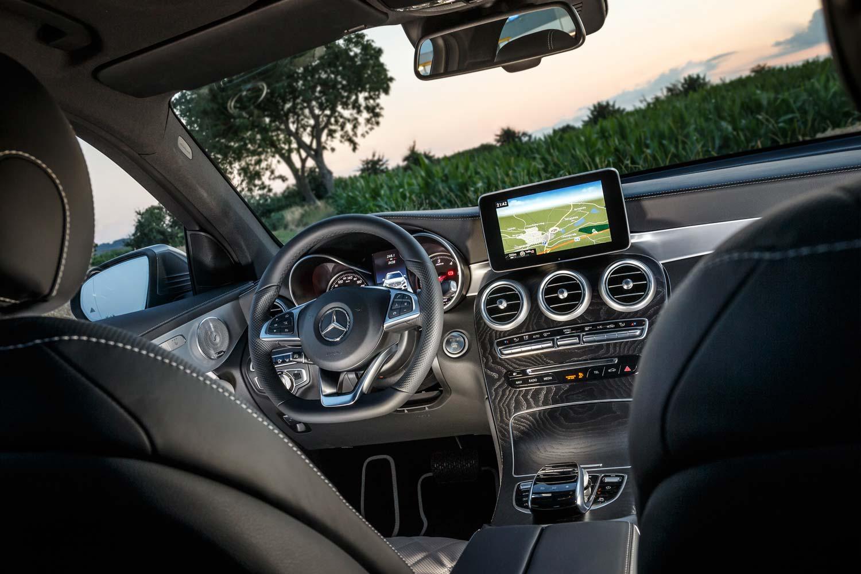 Mercedes Class C Coupe Dimension Coffre