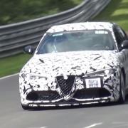Alfa Romeo Giulia am Ring