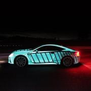 Lexus RC F leuchtet