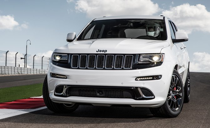 Jeep Grand Cherokee Trackhawk Dickes Geschoss Motorblock