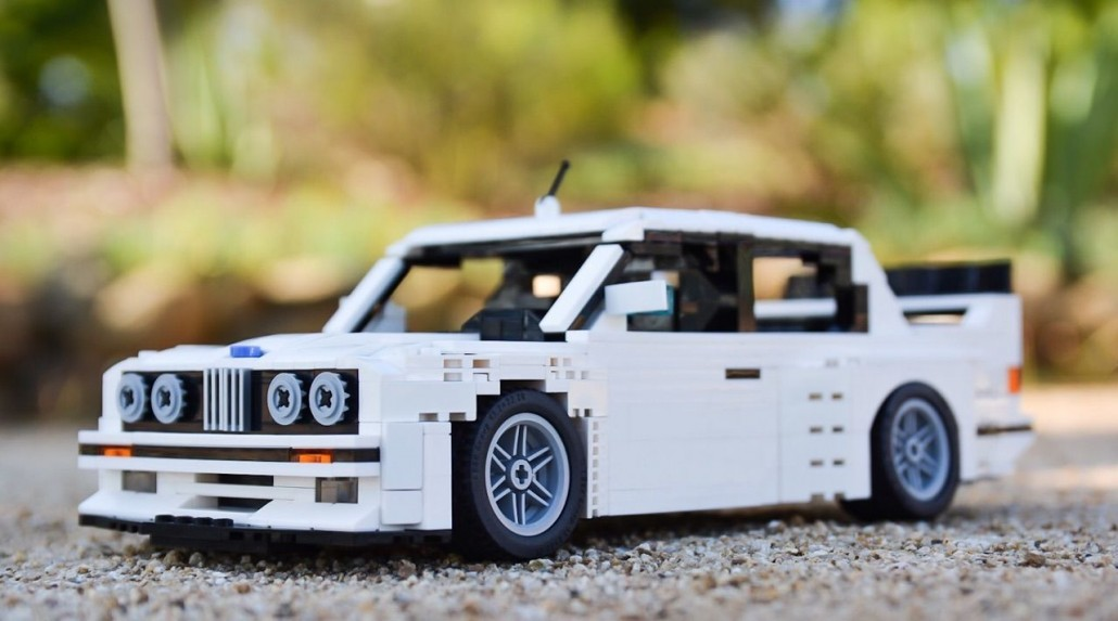 bmw e30 m3 lego spielzeug f r m nner motorblock. Black Bedroom Furniture Sets. Home Design Ideas