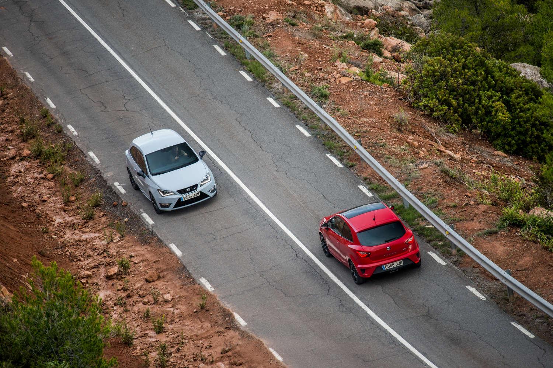 Seat Ibiza Cupra Heckleuchte Front
