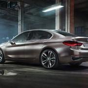 BMW Concept Compact Sedan Seite Heck Felgen
