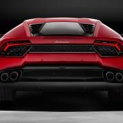 Lamborghini Huracán LP580-2 Heck Heckleuchten Auspuff Difussor
