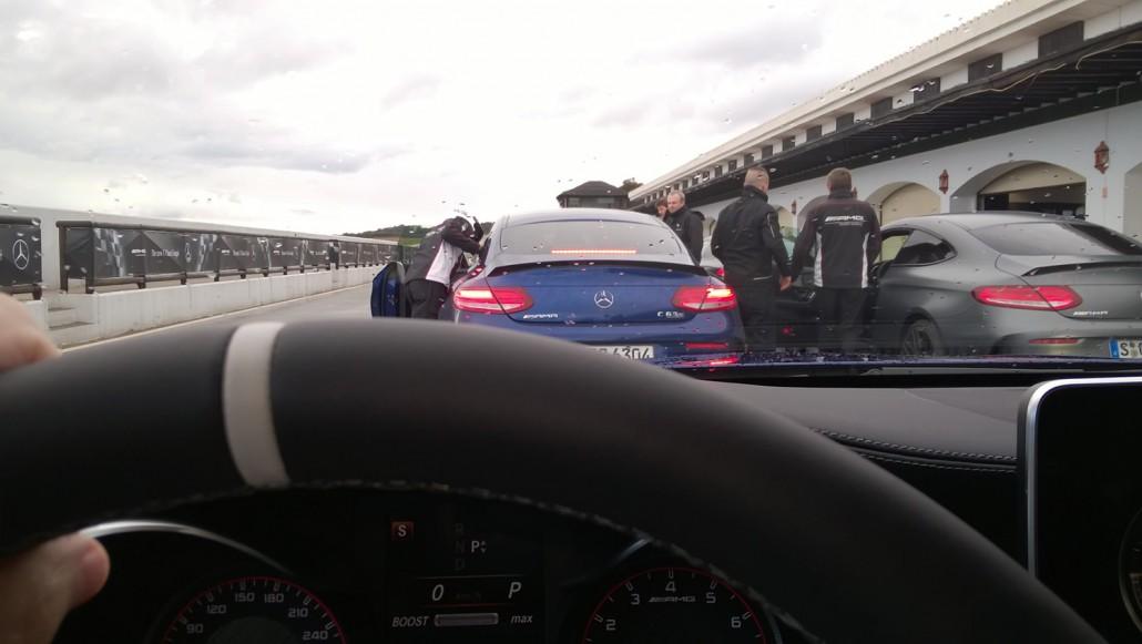 Mercedes-AMG C63S Lenkrad Heckleuchten
