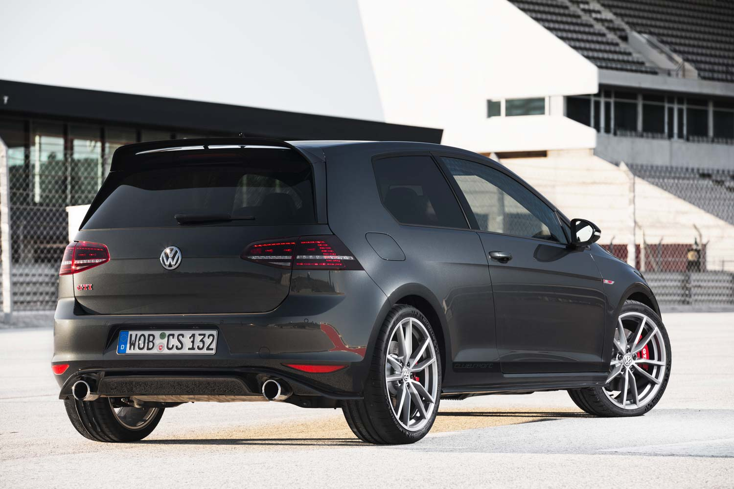 vw golf gti clubsport zum geburtstag viel druck. Black Bedroom Furniture Sets. Home Design Ideas