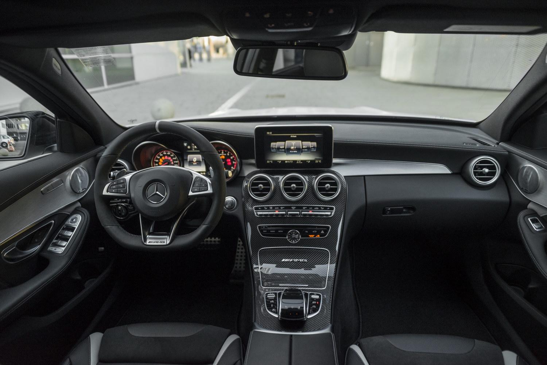 Mercedes Benz C63 AMG S Dampfhammer Motorblock