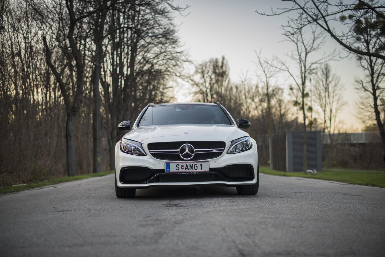 Mercedes-Benz C63 AMG S Front Stern Frontgriller Spoiler