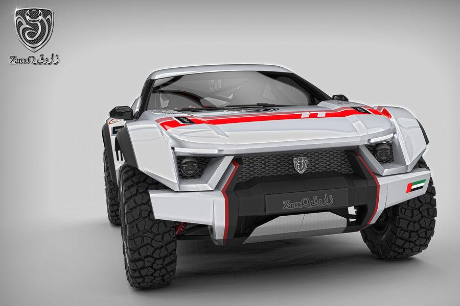 Sand Racing Car