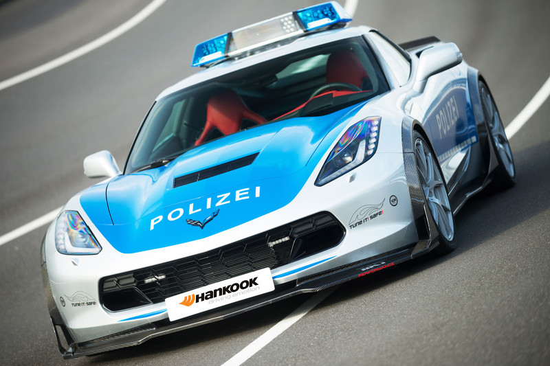 Chevrolet Corvette C7 Polizei