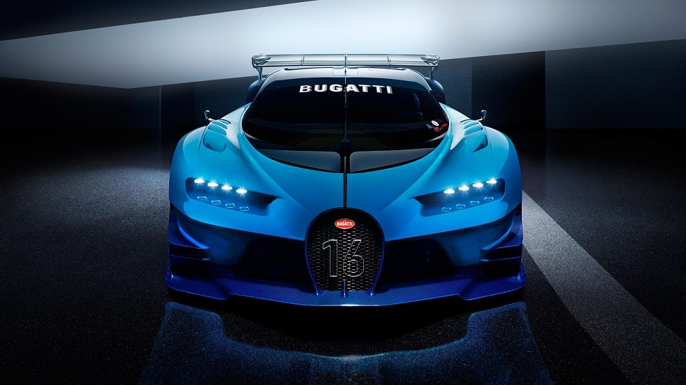 Bugatti Chiron Front Scheinwerfer
