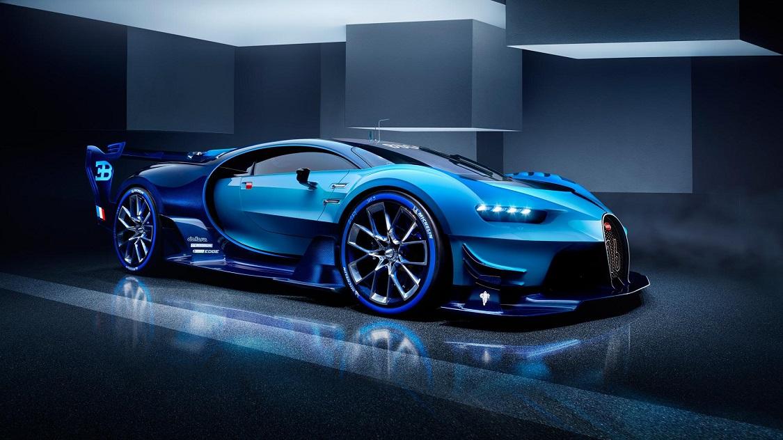 Bugatti Chiron Front Felge Scheinwerfer