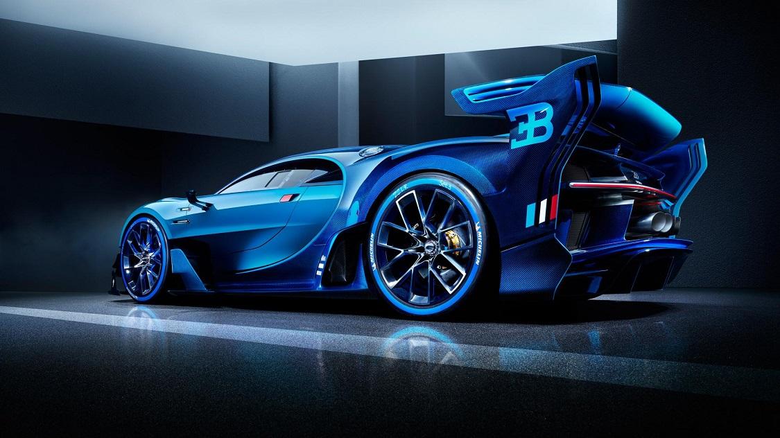 Bugatti Chiron Heck Felge