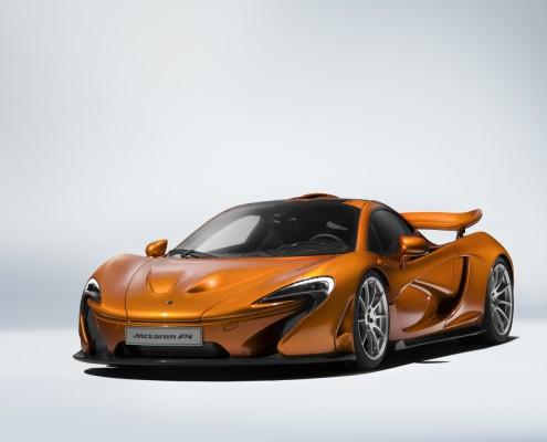 mclaren p1 orange front