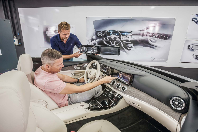 Mercedes E-Klasse Innenraum - Ode an die Generation ...