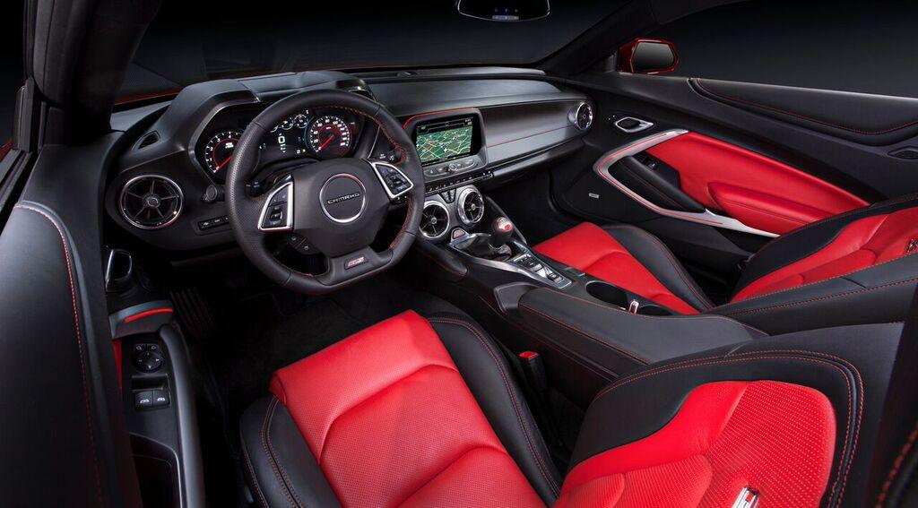 Chevrolet Camaro Innenraum Display Anzeige Cockpit