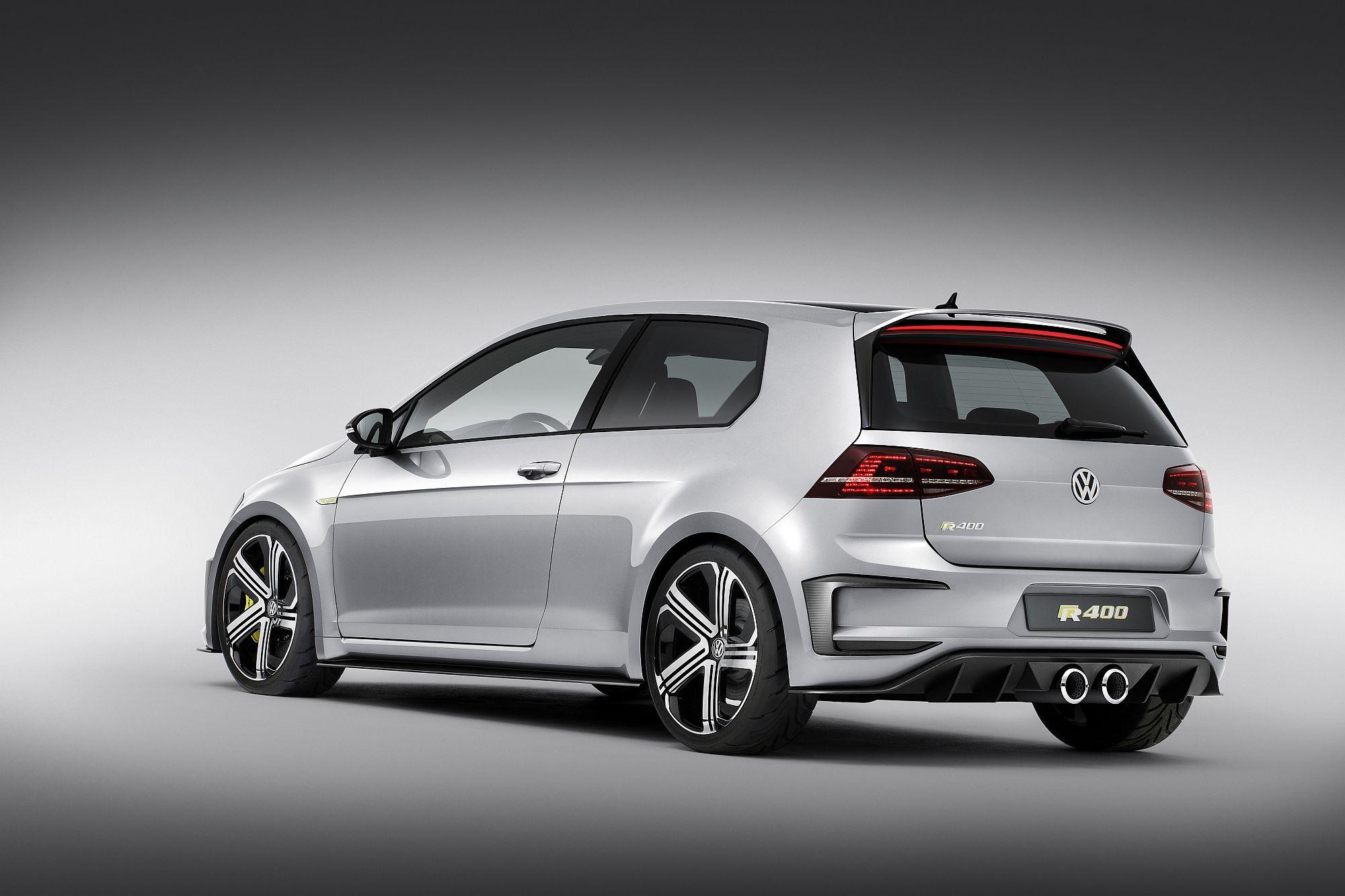 VW Golf R 420 Heck Scheinwerfer Auspuff Felgen
