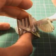 V8 aus Papier