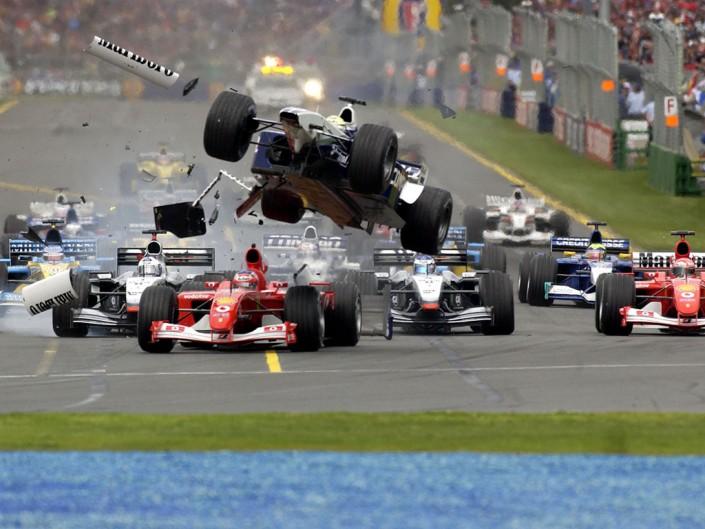 Formel 1 Kurvenrückblick
