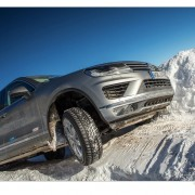 VW Touareg Winter Driving