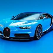 Bugatti Chiron Front Scheinwerfer Kühler Felgen Karosserie Windschutzscheibe