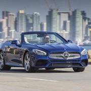 Mercedes SL Front Scheinwerfer Motorhaube LED Felge