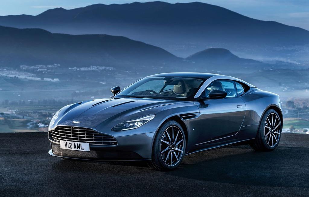 Aston Martin DB11 Front Scheinwerfer Motorhaube Powerdome Kühlergrill