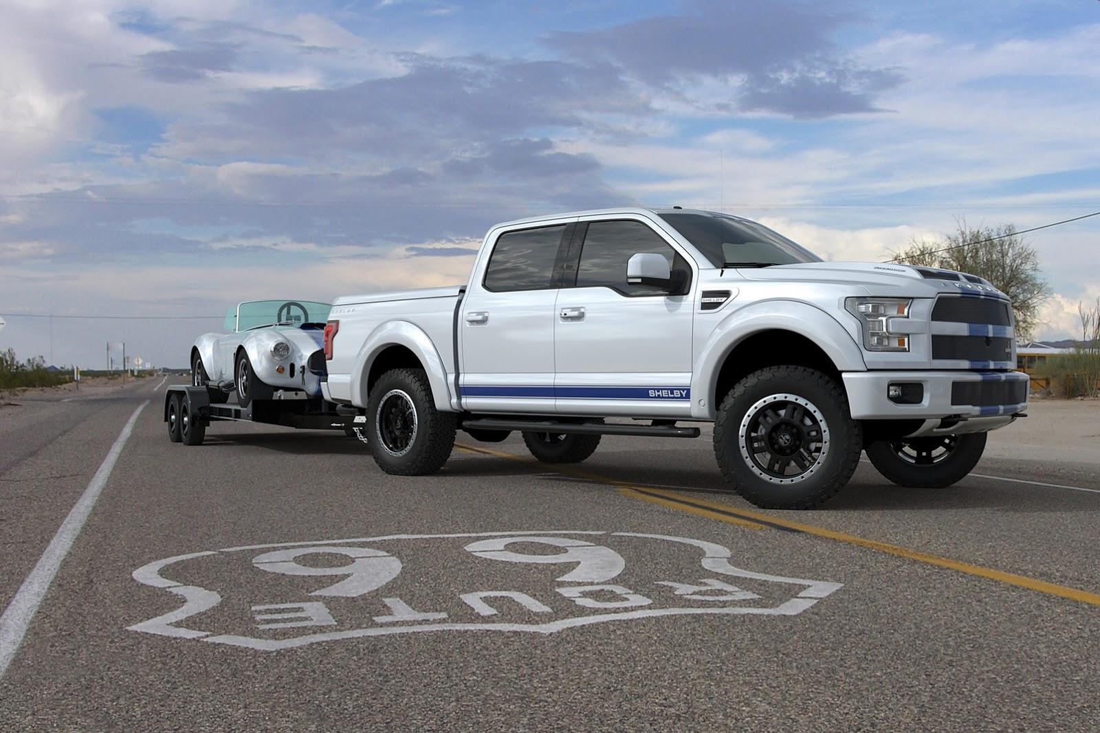 shelby f-150 - cobra pickup truck - motorblock