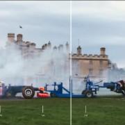 Formel 1 gegen Rugby