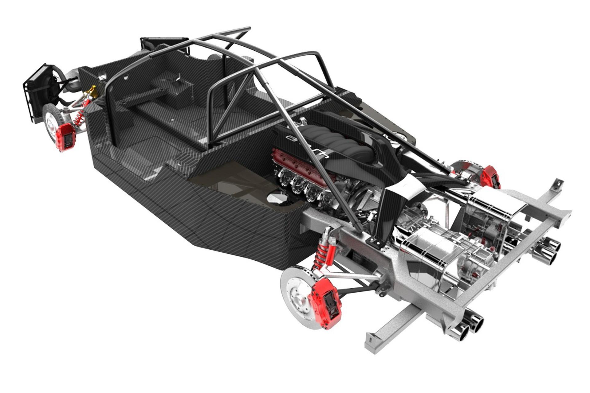 Arash AF10 Karbon Chassis