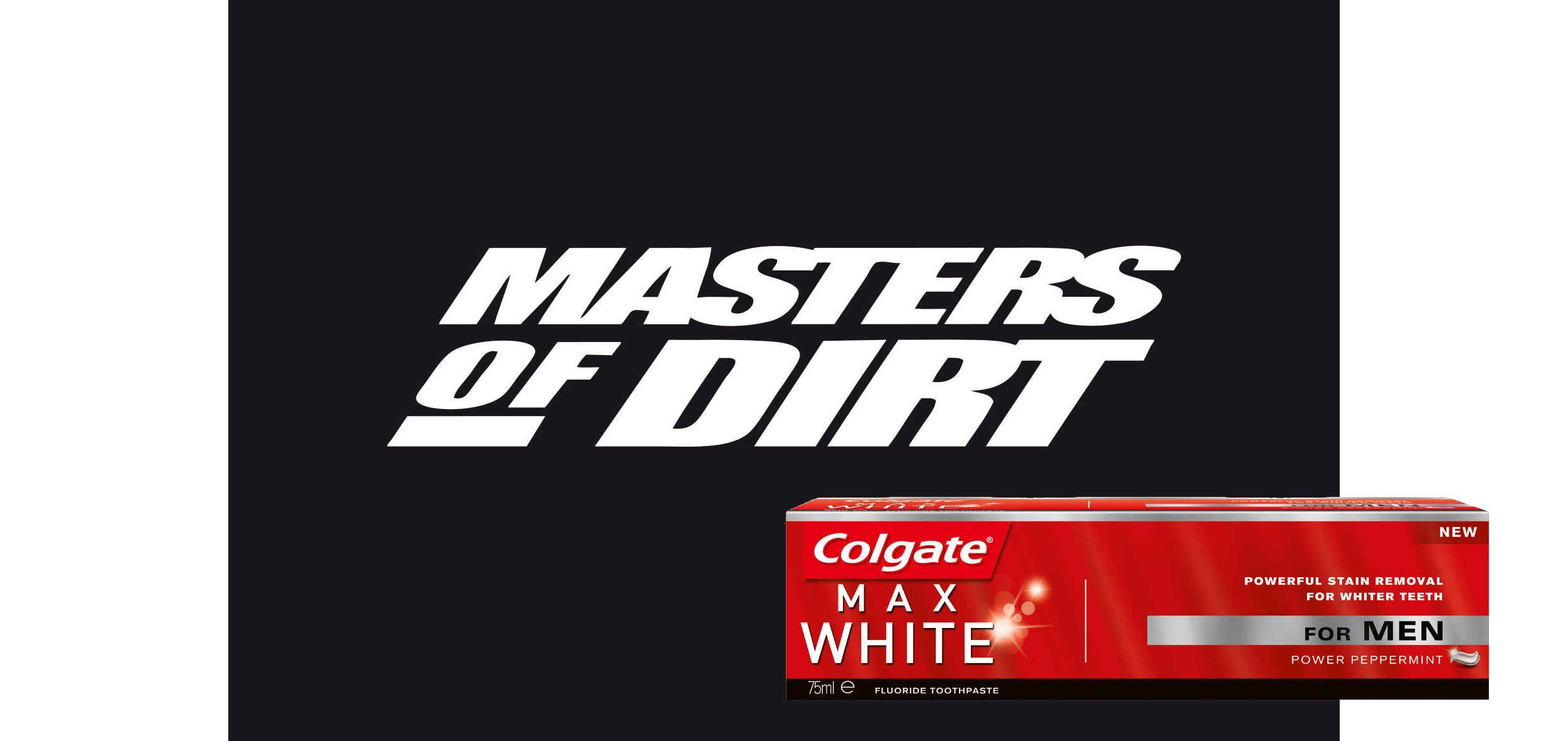 Logo Masters of Dirt Logo Colgate